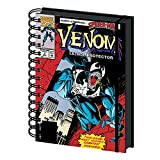 Marvel Comics Venom Lethal Protection A5 Wiro Carnet de notes à couverture rigide