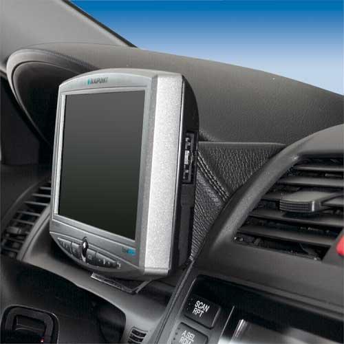 KUDA 246225 Halterung Kunstleder schwarz für Honda Accord (CN1/CL7/CL9) ab 01/2003 bis 2008