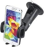 Smart Planet Kfz Smartphone Halterung Handy Auto Halter universal für Handys von 59 bis 89mm Breite - z.B. iPhone 7 8 X Galaxy S7 S8 OnePlus 6 HTC 10