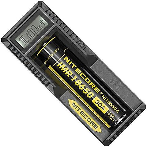 Nitecore UM10 Chargeur pour 1 accu Noir
