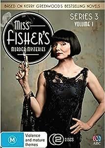 Miss Fisher's Murder Mysteries - Series 3 Volume 1 DVD (2 Discs) (Aus Import) by Hugo Johnstone-Burt, Nathan Page, Miriam Margolyes, Essie Davis Ashleigh Cummings