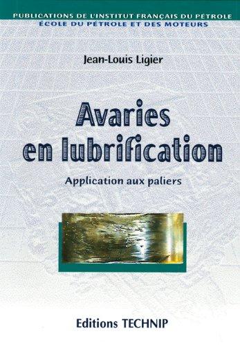 Avaries en lubrification
