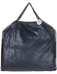 Stella McCartney Falabella Fold Over bolso de mano mujer blu