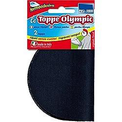Parodi & Parodi Cucito Toppe Olympic, Acrilico, Multicolore, 15 x 9 x 0.5 cm, 2 Unità
