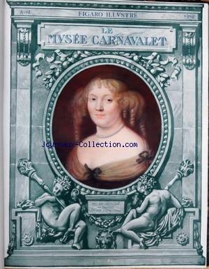 figaro-illustre-du-01-04-1909-le-musee-carnavalet-mme-de-sevigne-par-nanteuil-l-39-ami-du-peuple-portrait-de-marat-sale-a-manger-de-la-bastille-portrait-d-39-inconnu-par-p-prud-39-hon-passage-des-souverains-allies-sur-le-boulevard-saint-denis-en-1814-par-zippel