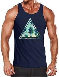 Neverless Herren Tank Top Foto Print Ananas Palmen Galaxy Sommer Tropical  Muskelshirt Muscle Shirt d6e0ead0d4