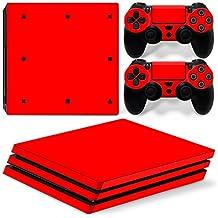 Mcbazel Pattern Series Aufkleber Vinyl Haut Aufkleber für PS4 Pro (Blut)