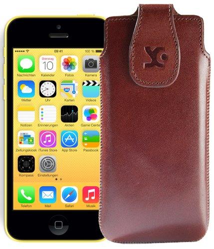 Suncase Étui pour iPhone 5C marron