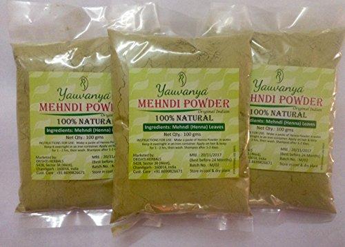 Yauvanya Original India pura y natural Henna (Mehndi) Ir Natural ... .Natural es lo mejor. Yauvanya Mehndi (Henna) es polvo de henna 100% puro hecho de hojas de la más alta calidad. No contiene productos químicos ni ingredientes dañinos. Descripción ...