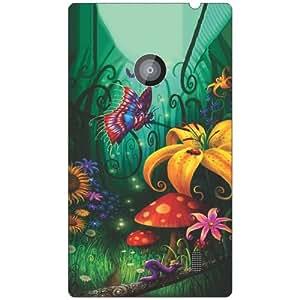 Nokia Lumia 520 gardenic phone cover