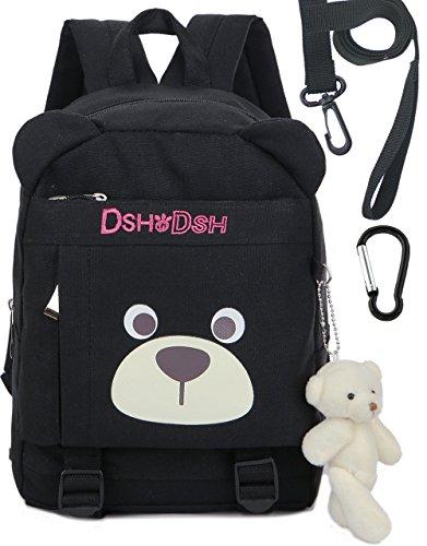 Imagen de  infantil zoo niños guarderia perro oso animales algodón saco preescolar bambino bebes negra