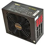 Rhombutech 1050 Watt ATX PC-Netzteil/Super Gaming-Netzteil/Effizient bis zu 87% / Voll-modulares Kabelmanagement/Aktiv PFC/Super Silent / 140mm kugelgelagerter Lüfter