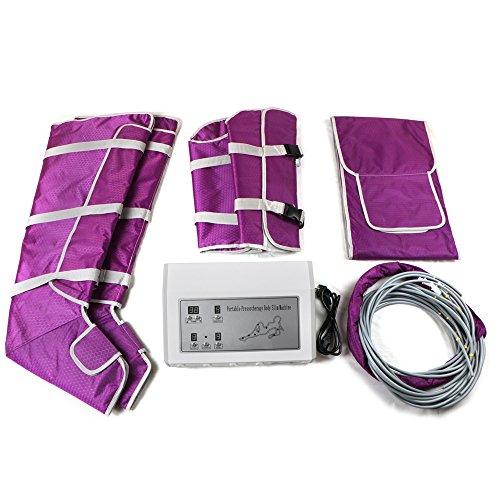 Body Shaper Gewichtverlust schlank Maschine Luft Welle Druckanzug lila Elitzia ETJMLB1218 (Luft Bein-massagegerät)