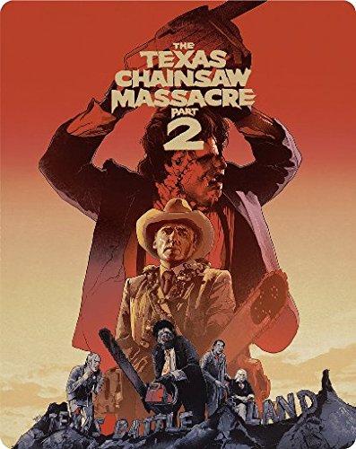 The Texas Chainsaw Massacre 2 - Steelbook/Turbine Steel Collection (+ Bonus-DVD) [Blu-ray]