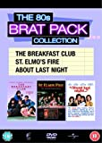 The 80s Brat Pack Collection (The Breakfast Club / St. Elmo's Fire / About Last Night) [DVD]
