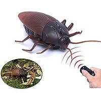 Escomdp Cucaracha RC Children Control Remoto Juguetes de Insectos Animal Infrarrojo Juguete Bug Regalos para Niños