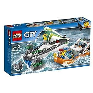 LEGO, City,Salvataggio della Barca a Vela, 60168 (Lingua Italiana Non Garantita) 5702015866422 LEGO