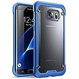 SUPCASE Samsung Galaxy S7 Edge Hülle, Unicorn Beetle Handyhülle Premium Case Transparente Schutzhülle Stoßfest Back Cover für Samsung Galaxy S7 Edge 2016 (Blau/Schwarz)