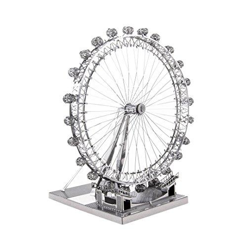 Fascinations Metal Earth ICX019 - 502830, London Eye, Konstruktionsspielzeug, 2 Metallplatinen, ab 14 Jahren -