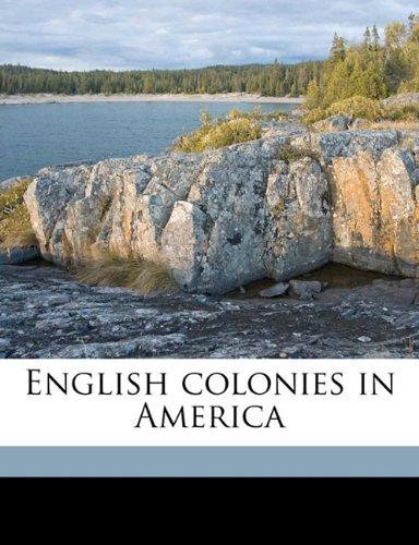 English colonies in America Volume 3