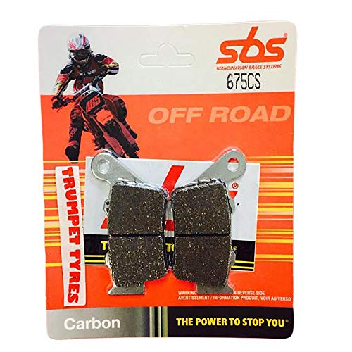 CCM R30 644 02 03 04 05 06 SBS Performance Bremsbeläge hinten Carbon Off Road Racing Race Race Bremsbeläge Set, Original OE Qualität 675CS -