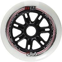 Fila Wheels Wheels 72mm/82A x 8, Blanco, 100 mm
