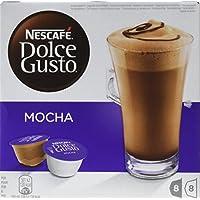 Nescafé Dolce Gusto Mocha, Paquete de 3 x 16 cápsulas, total 48 cápsulas,