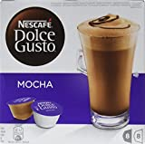 Nescafé Dolce Gusto Mocha, Paquete de 3 x 16 cápsulas, total 48 cápsulas, 24 porciones