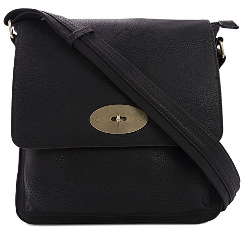 womens-large-quality-faux-leather-twist-lock-cross-body-messenger-bag