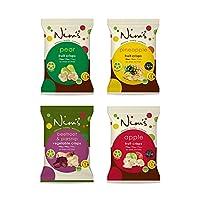 Nim's Combo Pack of 4 Flavors Fruit & Vegetable Crisps