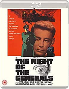 The Night Of The Generals (Eureka Classics) Blu-ray edition