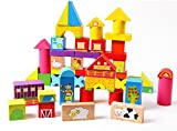 #3: 52 pieces Farm Building Blocks wooden toy for kids