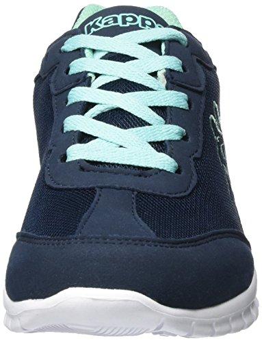 Kappa Rocket, Sneakers Basses Femme Bleu (Navy/mint)