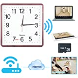 Toughsty16GB 720P HD P2P WiFi Ip Camera Clock Hidden Camera Motion Activated Video Recorder Security DVR for Android iOS APP Remote View