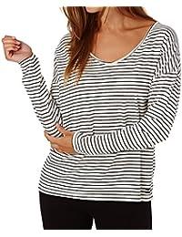 692ea10b37bd G.S.M. Europe - Billabong Damen Essential Ls Shirts   Blusen, Schwarz,  Einheitsgröße
