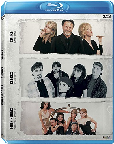 Pack: Wang + Smith + Tarantino/Rodríguez (Smoke + Clerks + Four Rooms)...