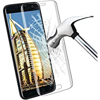Galaxy S7 Protecteur D'écran,Samione 3D Couverture Complète 9H Glass Ultra Définition Anti-scratch Sans Bulles Verre Trempé pour Samsung Galaxy S7 (Transparent)