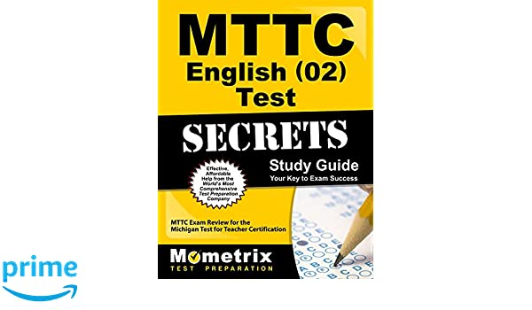 Mttc English 02 Test Secrets Study Guide: Mttc Exam Review for the ...