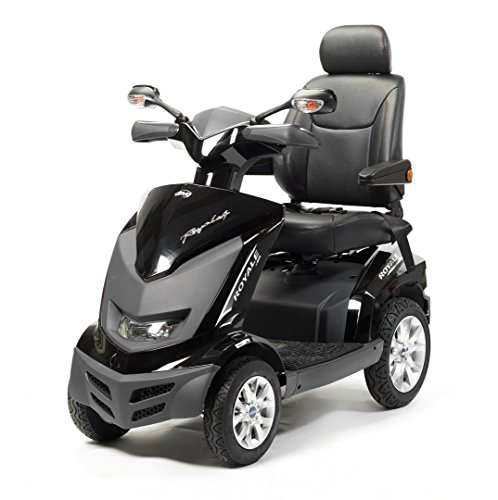Drive Medical Royale 4 Class 3 Deluxe Heavy Duty 4 Wheel Mobility Scooter -White
