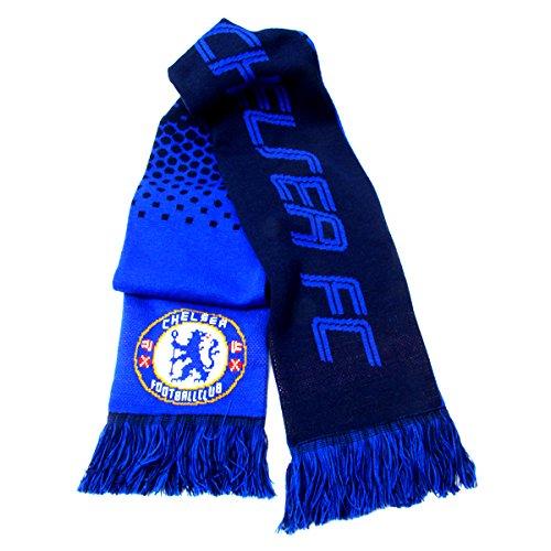 Chelsea Knit Beanie (Offizielles Fußball Team verblasst Strick Supporters schal (verschiedene Vereine zur Auswahl), Chelsea FC)