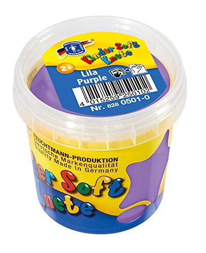 Feuchtmann Spielwaren 62805010 - Kinder Soft Knete/Lufttrocknende Modelliermasse 2+, ca. 150 g- lila