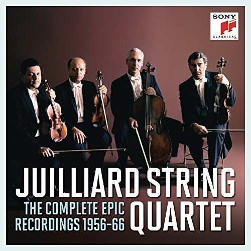 Juilliard String Quartet - Complete Epic Recordings Juilliard-set