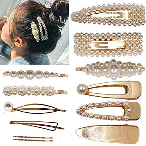 Gaddrt Haarnadel Haarklammer Frauen Perle Diamant Haarspange Stirnband Haarnadel Haarspange Kamm Zubehör