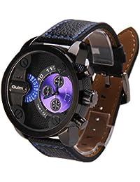 952dca7f22b2 Reloj de Pulsera Mujer y Hombre Demiawaking Nuevo Reloj De Los Hombres De  Oulm Del Movimiento