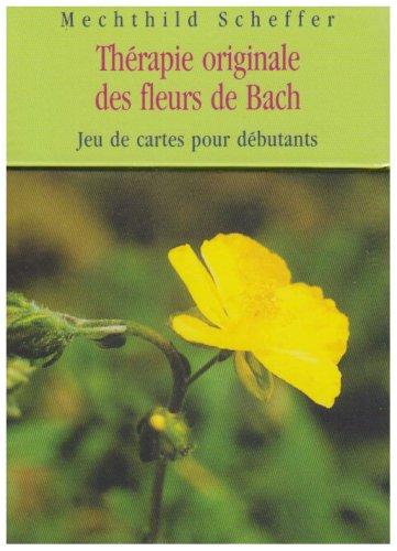 Thérapie originale des fleurs de Bach : Jeu de cartes pour débutants