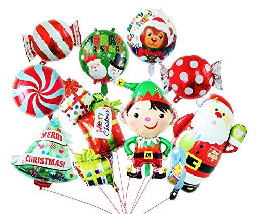 Engelballons Ballons Sets Dekoration für Weihnachten und Geburtstag mit gutem Bannerstempel (Feuer Und Eis Kostüm Set)
