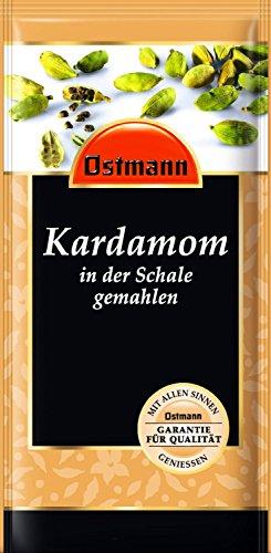Ostmann KARDAMOM (7,5 g / in der Schale gemahlen) QUALITÄTS GARANTIE
