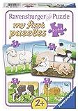 Ravensburger 06953 - Liebenswerte Bauernhoftiere, my first puzzles 2,4,6,8 Teile