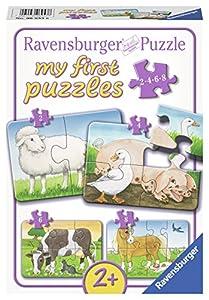 Ravensburger My First Puzzles 06953 Tradicional 2pieza(s) rompecabeza - Rompecabezas (Tradicional, Fauna, Infant, Niño/niña, Caja)
