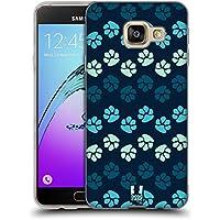 Head Case Designs Blues Pattes Étui Coque en Gel molle pour Samsung Galaxy A3 (2016)